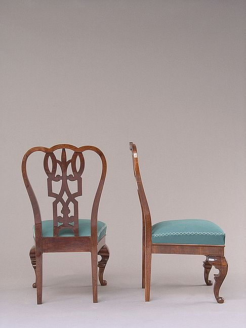 A pair of side chairs by Lajos Kozma